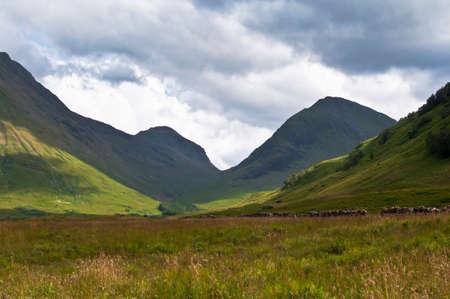 blackrock: Scottish mountains