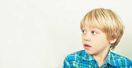 sad child: Fear