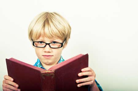intelligently: Child reading