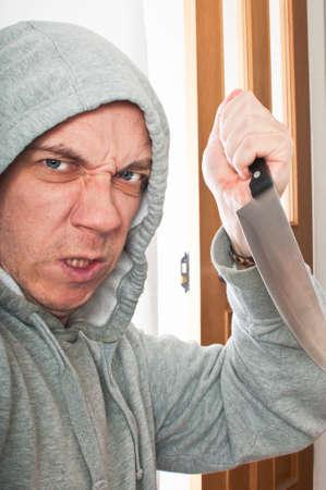 hijacker: Violent intruder