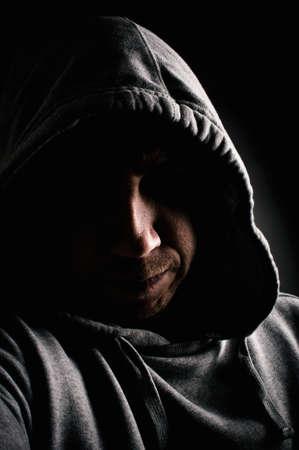 Geheimnisvoller Mann Standard-Bild - 25277503