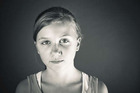 sobbing: Bullied child