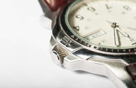Old wristwatch detail photo