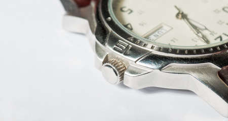 Gents wristwatch detail photo