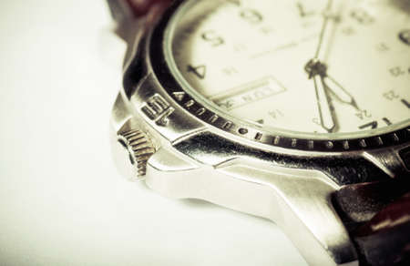 Retro wristwatch photo