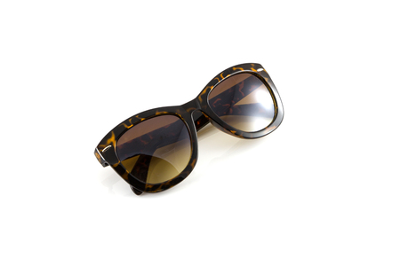 Sunglasses isolate in white background photo