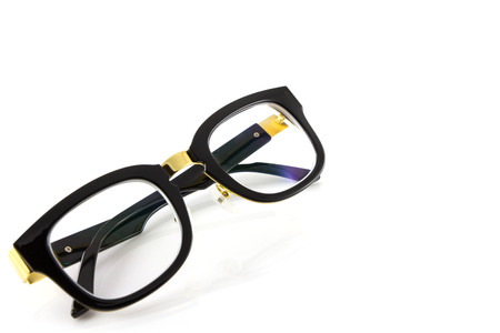 glasses isolate in white background photo
