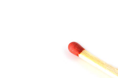 consumable: matches  isolate on white background Stock Photo