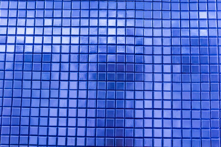 mosaic tiles background in natural light photo
