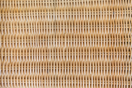 rattan mat: Woven rattan texture background Stock Photo