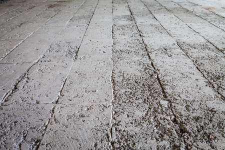 Raw concrete floor useful as a background photo