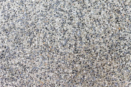 Background surface of black and white terrazzo floor, stone wall abstract. photo
