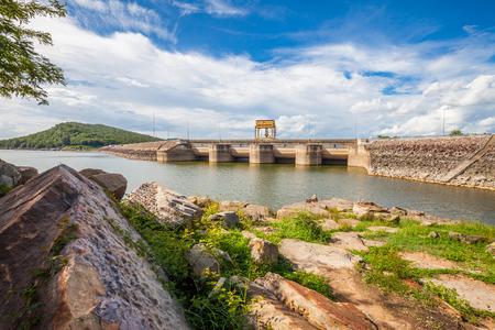 Dam Wall ,Thailand photo