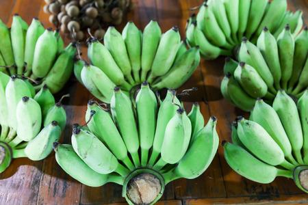 green bananas, Thailand photo