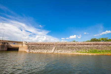 Dam Wall in Thailand photo