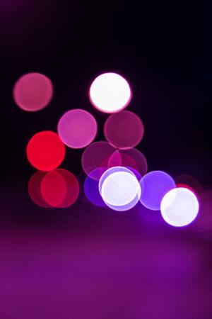 defocused lights bokeh background photo