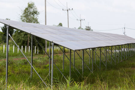 silicium: Solar energy panels ,Solar farm