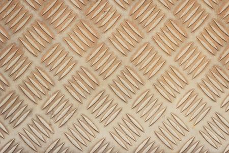 stainless steel floor plate texture Stock Photo
