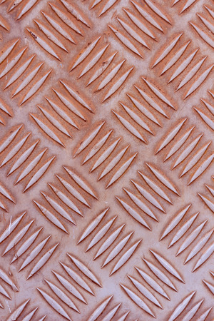 Old stainless steel floor plate texture photo