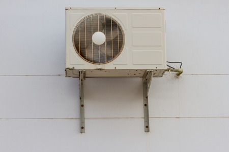 Air Condensing Unit outside the building photo