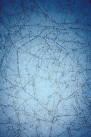 crease: vintage blue paper texture with crease background Stock Photo