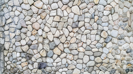 river rock: Old river rock wall texture background