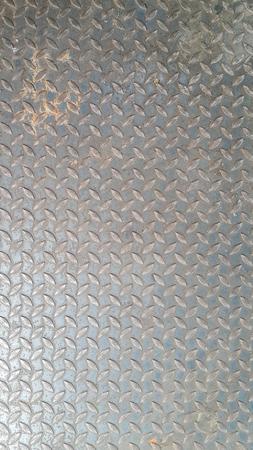 metal sheet: diagonal pattern on gray metal texture of metal plate sheet