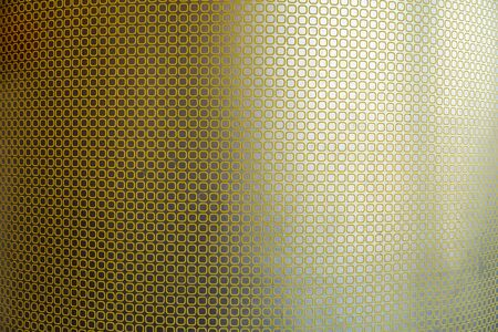 striped wallpaper: Yellow striped wallpaper with copy space for background
