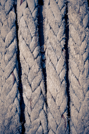 old ship: Old ship rope background