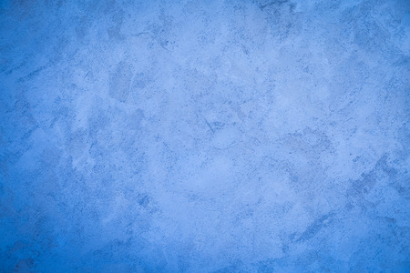 Blue wall cement paint texture background