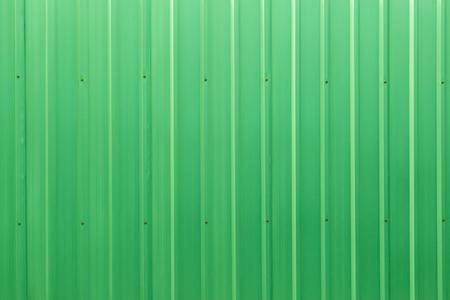 metal sheet: Green color corrugated metal zinc sheet  texture background