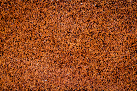 to the other side: Other side of brown leather texture background Stock Photo