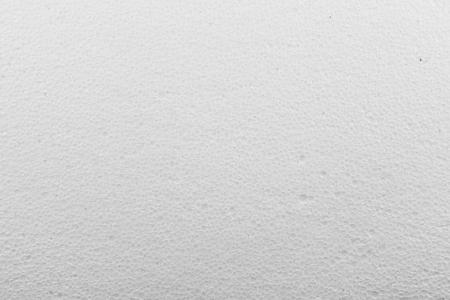 Mousse blanche feuille de plastique texture de fond