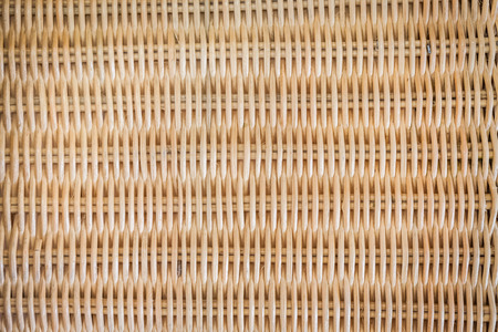 cane chair: Brown woven rattan texture background Stock Photo