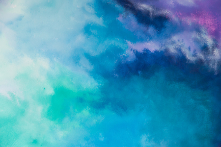 abstract multi color colorful wall background 스톡 콘텐츠