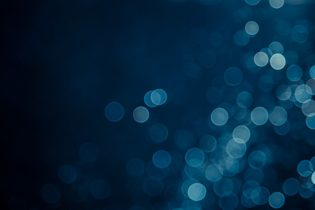 abstract blue bokeh background