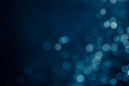abstrakte blaue Hintergrund Bokeh