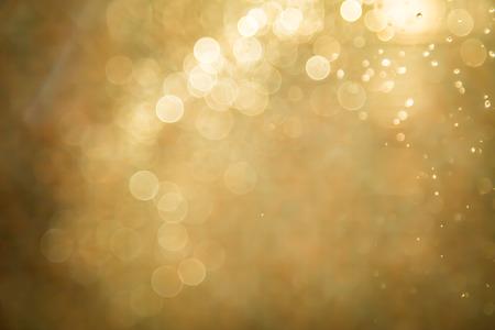 Abstracte gouden achtergrond bokeh Stockfoto - 44437587