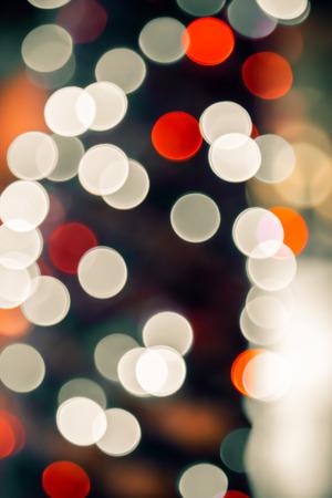 bokeh lights: defocused bokeh lights background