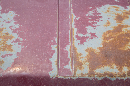 maintaining: Rust on the hood of the car was not maintaining the car color