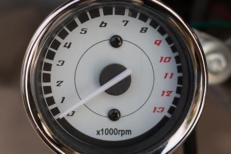 rpm: Close up of Tachemeter ,RPM background