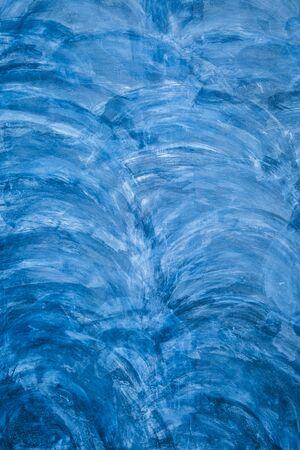 textures: Blaue Farbe Textur Betonwand für Hintergrund Lizenzfreie Bilder
