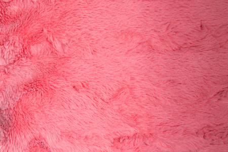 Close up of a pink Artificial fur pink use for background