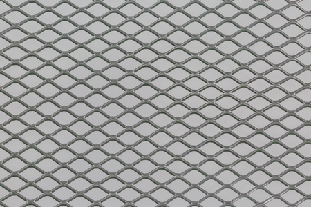 metal grate: Close up of steel mesh texture pattern use for background Stock Photo