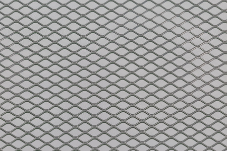 speaker grille pattern: Close up of steel mesh texture pattern use for background Stock Photo