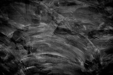 black wall: abstract black wall use for background Stock Photo