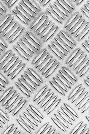diamondplate: Old stainless steel floor plate texture