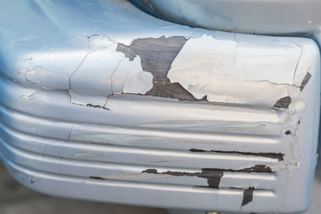 peeling paint: Cracked and peeling paint on car background Stock Photo