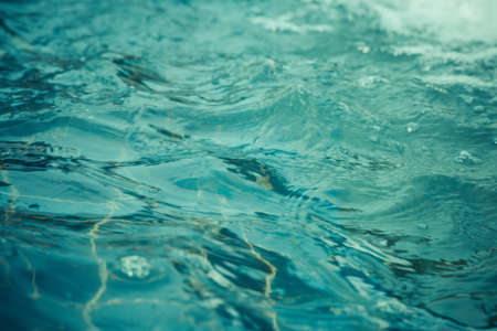 water wave: Blue water wave background