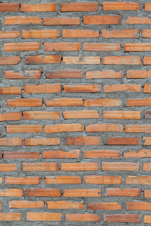 old vintage brick wall use for background
